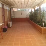 Obra patio zona Nervión.