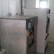 Obras de adecuación para nuevas necesidades en lavandería en Castilleja de la Cuesta. Sevilla.